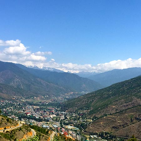 thimphu valley